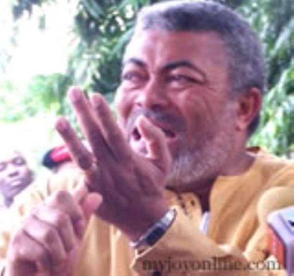 """Stop Poisoning NDC Flagbearer Race"" -JJ"
